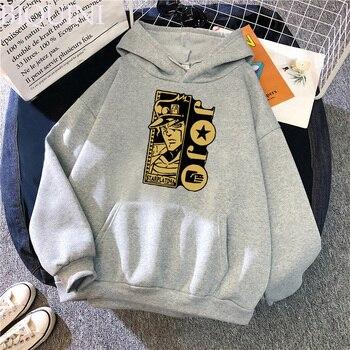 Harajuku Fashion JoJo's Bizarre Adventure Hoodies Sweatshirts Mens Hoodie Hot Fashion Suitable Kids JoJo Boys Girls Pullover Top