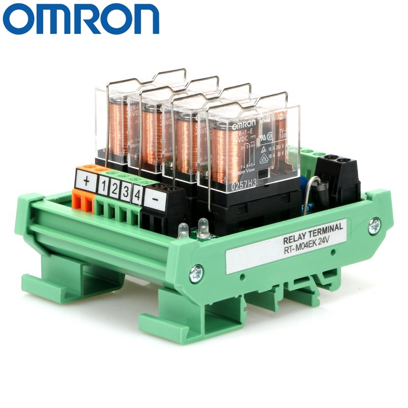 Omron MY2N 24 VDC Coil Pilot Relay w// Base S