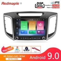 Android 9.0 Car DVD Radio GPS Navigation Player For Hyundai Creta ix25 2014 2019 Video Multimedia Stereo Bluetooth Headunit