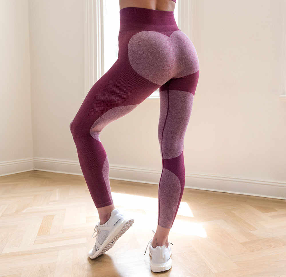 2019 Naadloze Leggings Vrouwen Broek Polyester Workout Sexy Push Up Gym Leggings Sport Yoga Gym Fitness Broek Atletische Kleding