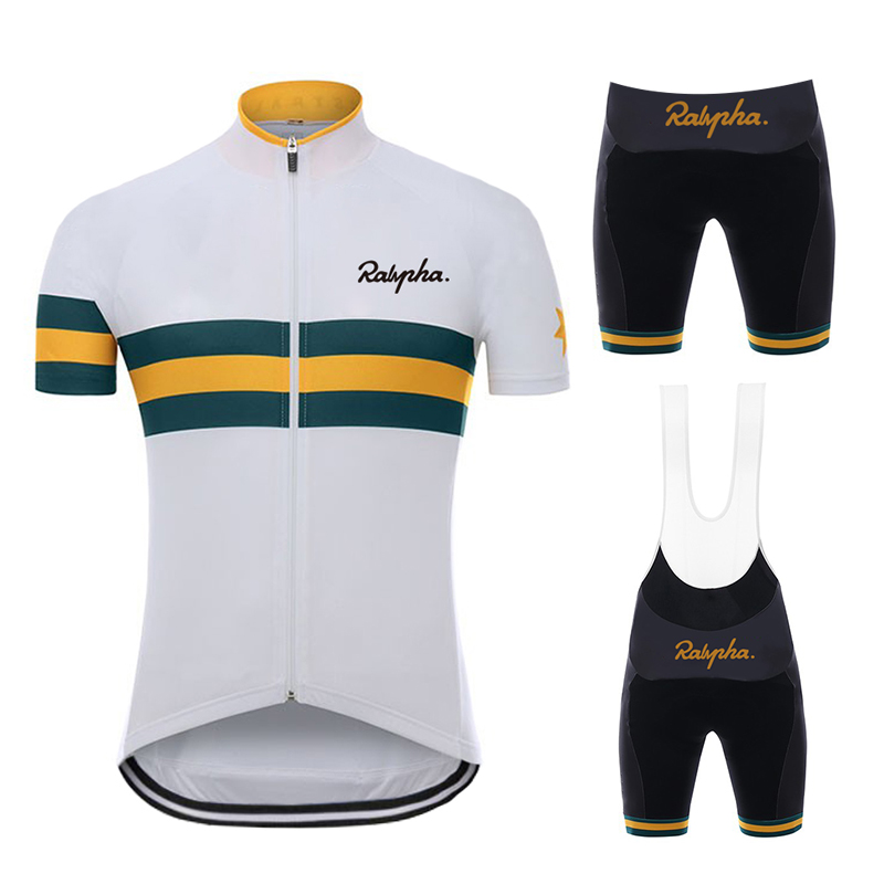 Ralvpha  2019 Summer Pro Team  Men's Mtb Bike Wear Breathable Mountain Bicycle Clothes Sportwears Cycling Clothing Kits