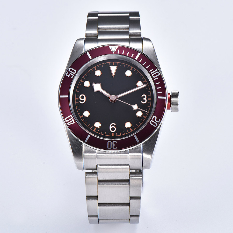 watch men automatic mechanical watch Luminous waterproof 316L Solid stainless steel 41MM  DT13
