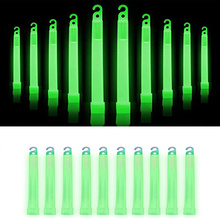 10pcs Military Survival Kit Glowing Stick Ultra Bright Emergency Light Sticks for Camping Accessories, Parties, Earthquake