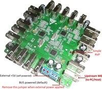 USB2.0 HUB Data Line Concentration Controller 1 Drag 19 Self/bus Power Supply Dual Mode FE2.1 Module