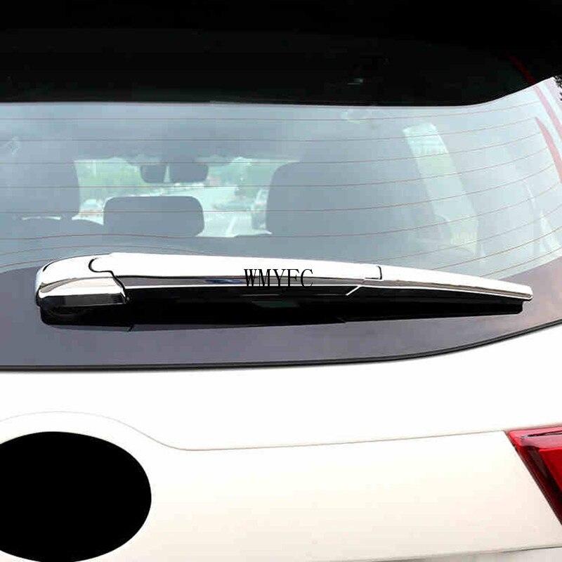 For KIA Sorento 2015-2018 New ABS Chrome Rear window wiper cover trim Decorate