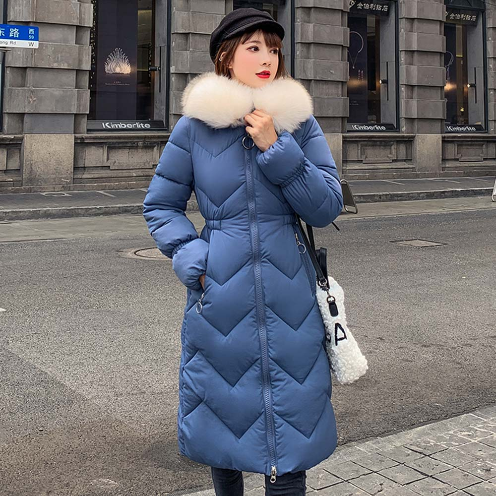 6 Colors Winter Jacket Women Slim Ladies Hooded Thicken   Parka   Warm Hooded Faux Fur Female Long Winter Coat jacket women