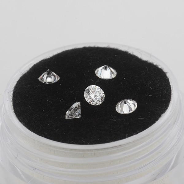 Starszuan 3.1mm test positive DEF VS HTHP lab grown diamonds round brilliant diamonds for jewelry making