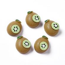 50pcs Kiwi Fruit Pineapple Flat Back Resin Cabochons Ornament Scrapbooking DIY Crafts for Hair Clip Craft Jewelry Making 50pcs lots cute fly horse flat back resin diy craft supplies for bow center decoration unicorn button earring jewelry ornament