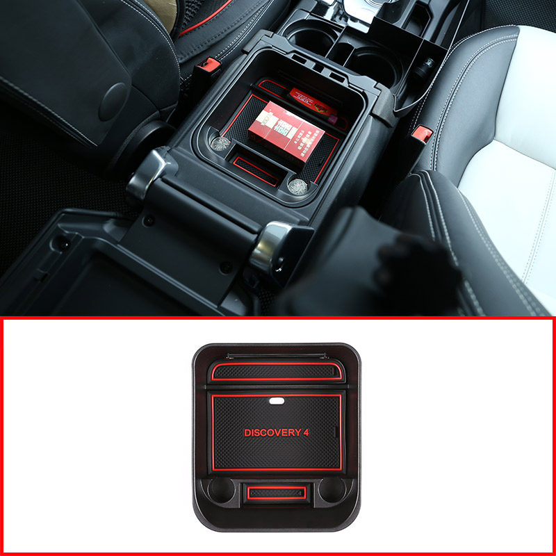 For Land Rover Discovery 4 LR4 2010-2016 Car Accessories Car Central Storage Box Door Phone Glove Armrest Box