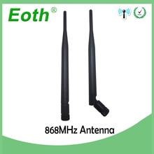 סיטונאי 10pcs 868 MHz 915 MHz אנטנת 5dbi SMA זכר ישר antena GSM antenne 868 MHz 915 MHz אנטנות עבור gsm אות מהדר