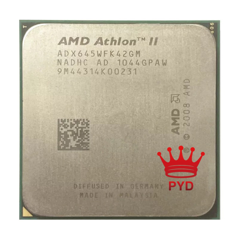 AMD Athlon II X4 645 AM3 938pin четырехъядерный процессор 3,1G ADX645WFK42GM разъем AM3 продажа X4 630/X4 635/X4 640/X4 620