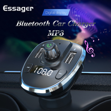 Essager USB Car Charger For Mobile Phone Bluetooth Handsfree
