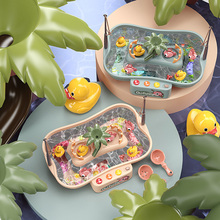 Fishing Board Game Toy For Children 2 Years Water Table For Kids Boys Montessori Musical Educational Magnetic Fishing Bath Toys