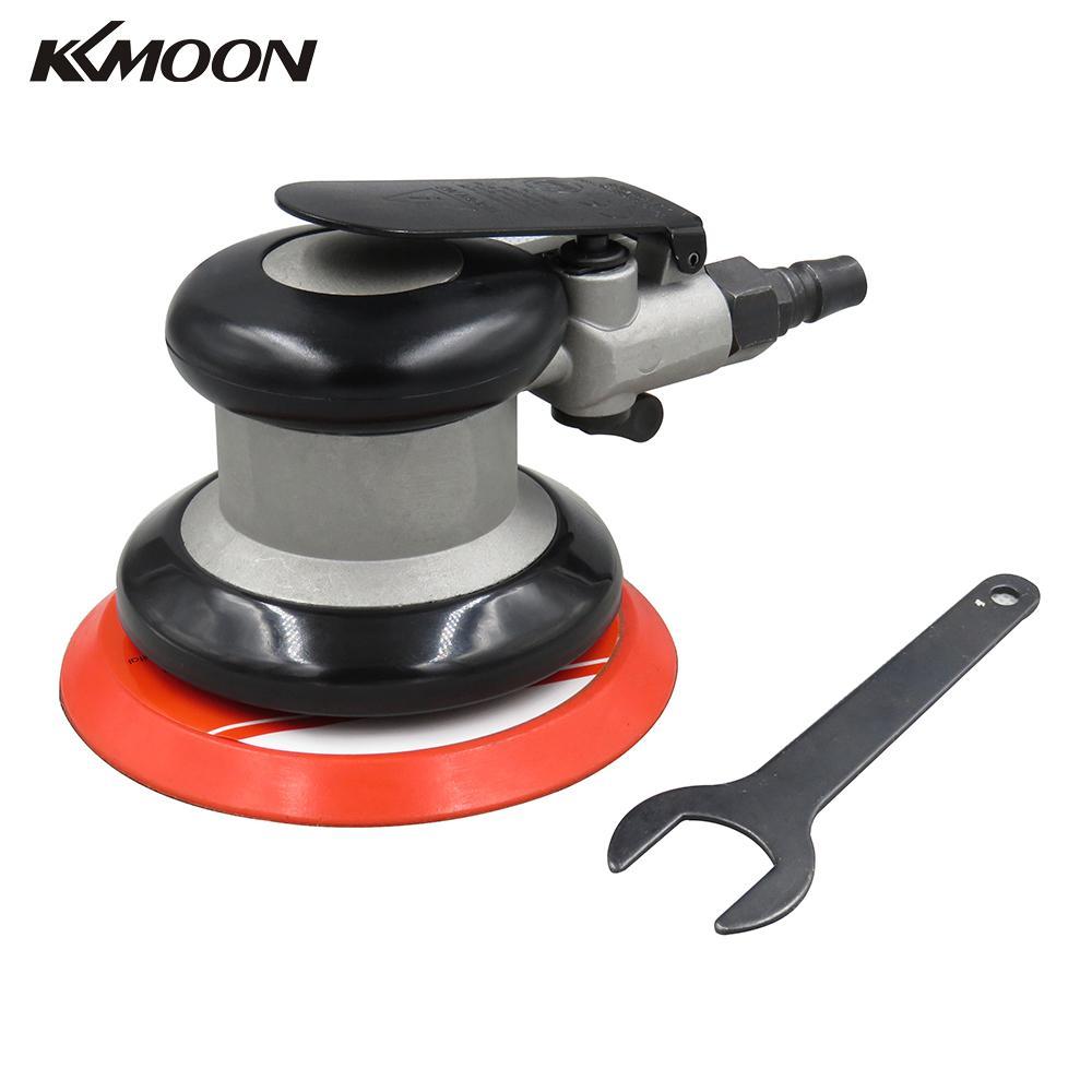 KKMOON – polisseuse pneumatique professionnelle pour voiture, 5 pouces, ponceuse à Air, ponceuse orbitale