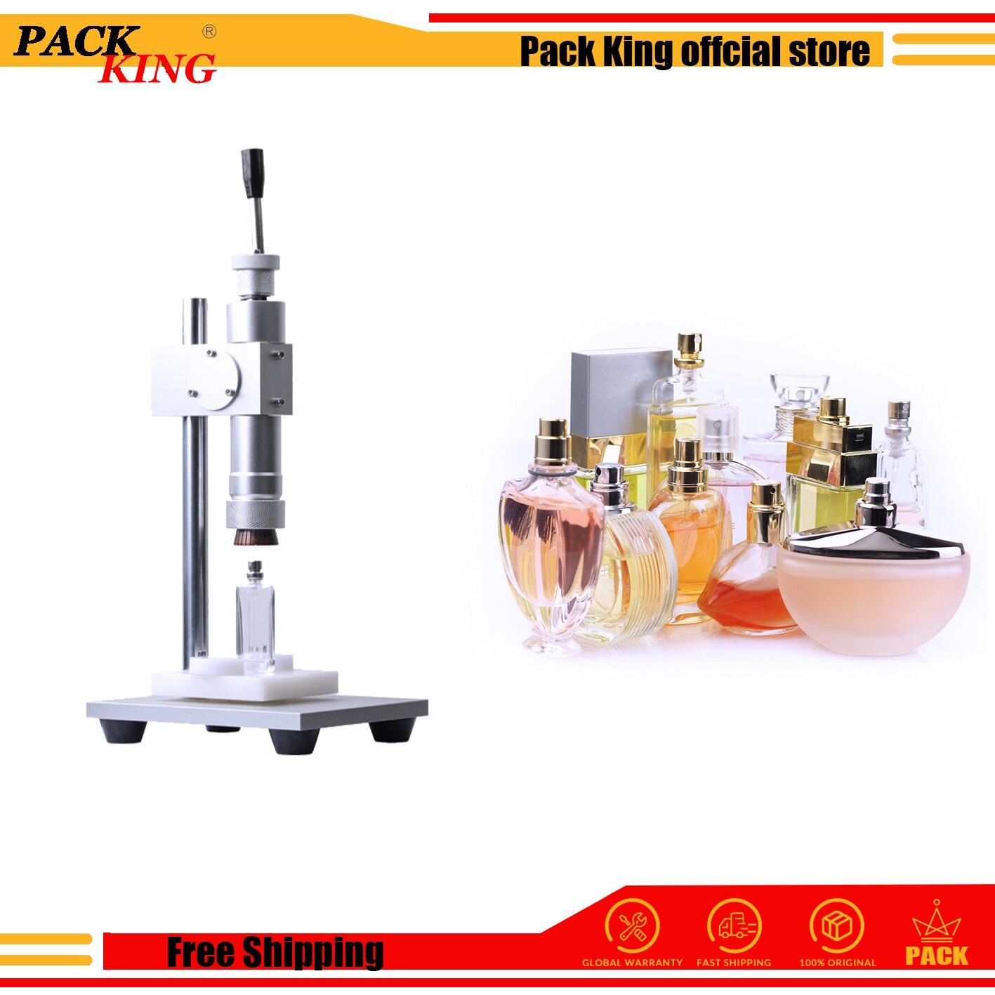 Manual Perfume Capping Machine Crimping Tools Crimper Capper Metal Fragrance Cap Press Fragrance Spray Collar Ring Presser