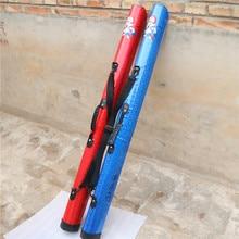 Стиль красочные yu gan bao 1,25 м водонепроницаемая сумка для удочки жесткий чехол рыболовные сумки рыболовные снасти оптом