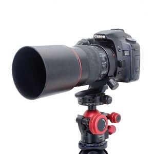Image 5 - IShoot 렌즈 칼라 삼각대 마운트 링 Canon EF 100mm f/2.8 L IS USM 매크로 교체 렌즈지지 브래킷 Canon D(B) IS C100L