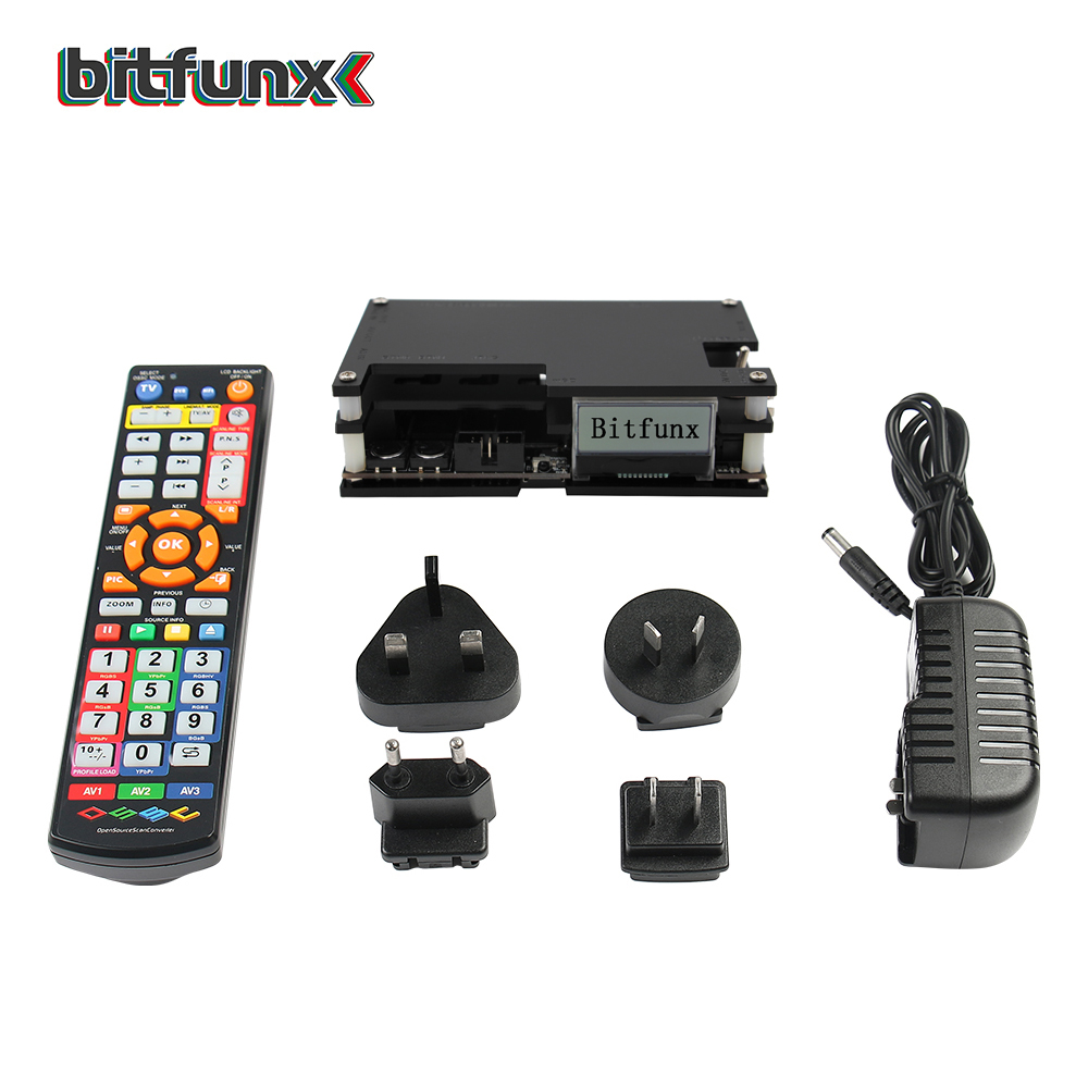 Bitfunx OSSC Open Source Scan Converterc HDMI Converter For Retro Game Console New Package Update Kit