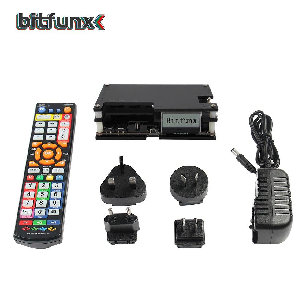 Convertisseur HDMI de convertisseur de balayage Open Source Bitfunx OSSC pour Console de jeu rétro nouveau Kit de mise à jour du paquet