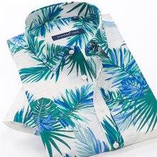 6XL 7XL 8XL 9XL 10XL Men's Summer Lightweight Loose Short Sleeve Shirt Classic Brand High Quality Cotton Fashion Printed Shirt