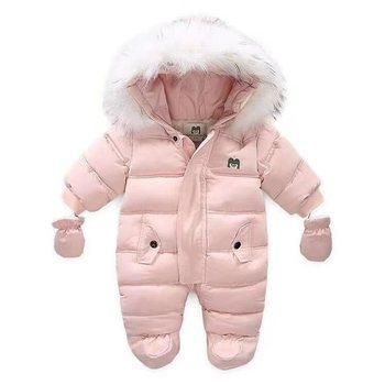 Baby Thick Warm Hooded Snowsuit 18
