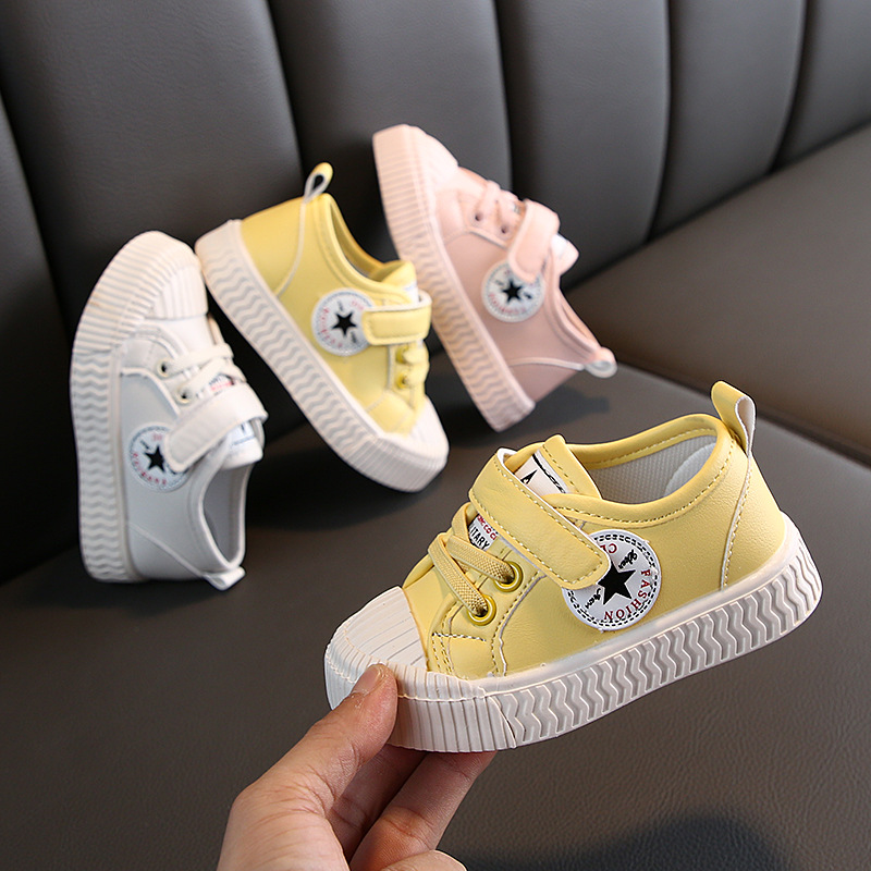 Baby Boy's Girl's Casual Shoes For Toddler/Little Kid Sneakers Spring/Autumn Strap Tennis Shoes Brand Children Casual Sneakers