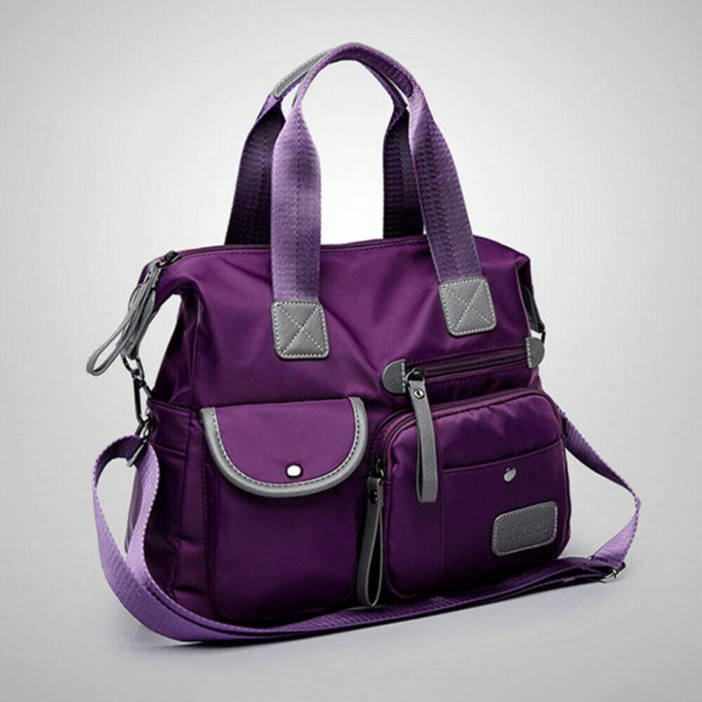 Ladies Creative Large Designer Nylon Cloth Style Shoulder Bag Travel Bags Ladies Large Capacity Handbag