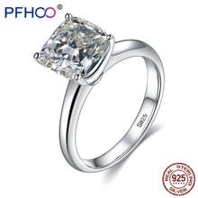 Pfhoo женские кольца из серебра 925 ювелирные изделия блестящий