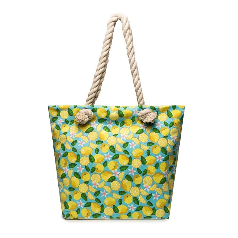 Canvas Mummy Bag Fresh Eco-friendly Bag Baby Bottle Bag Diapers Pouch Versitile Fashion Fashion Bag