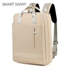 대용량 남자 방수 나일론 가방 여자 15.6 인치 노트북 배낭 충전 포트 학교 가방 10 대 소녀 소년 2020