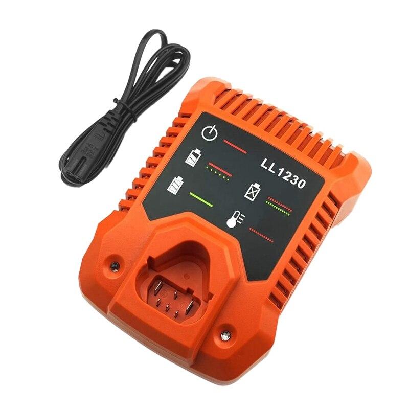 12V Lithium Ion Battery Charger LL1230 R86045 for Ridgid 12 Volt Li-Ion Batteries AC82048 AC82059 AC82058 US Plug