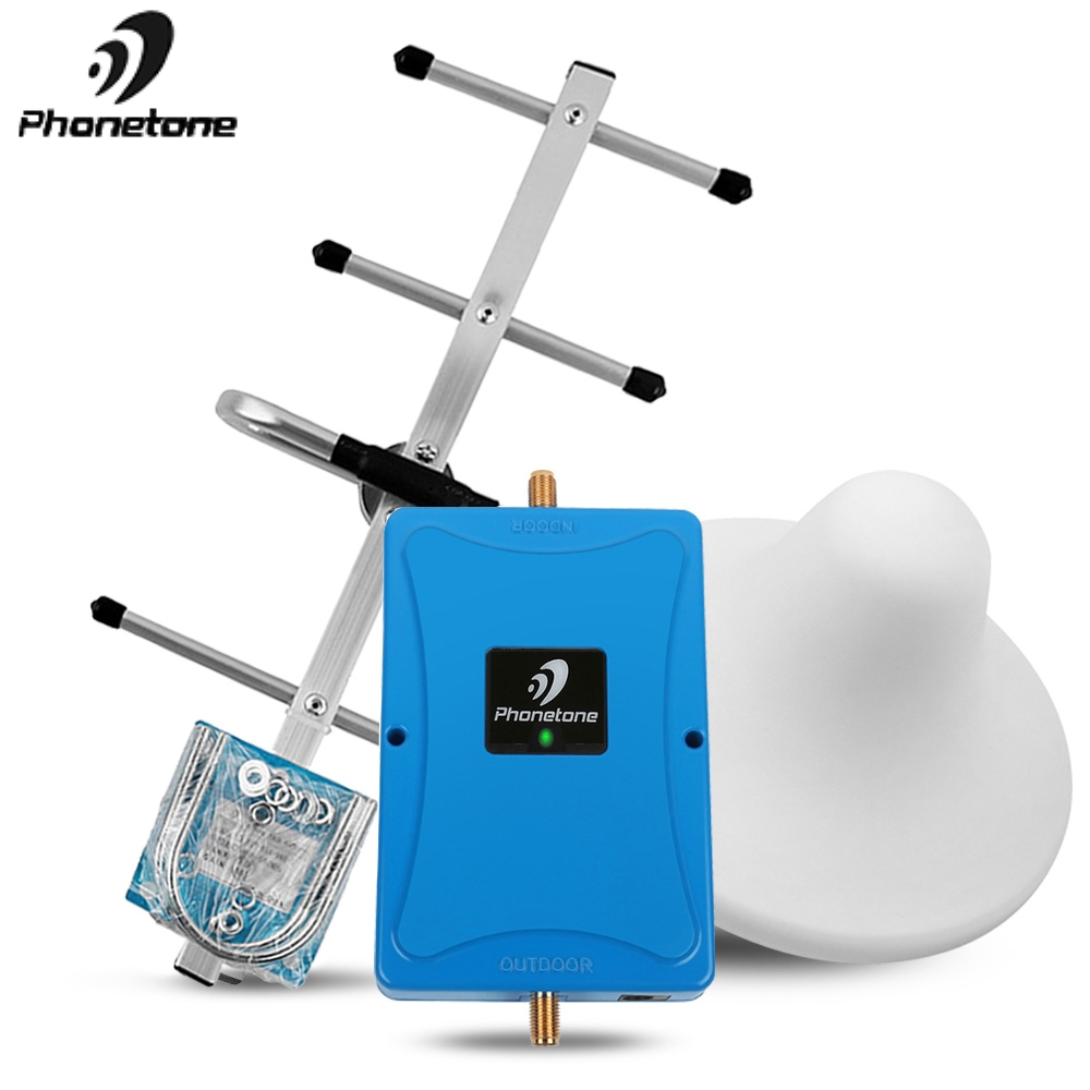 4G LTE 700mhz Mobile Phone Booster 4G 700 Signal Repeater Cellular Cell Phone Amplifier 4G Network 70dB Repeater Improve 4g Data