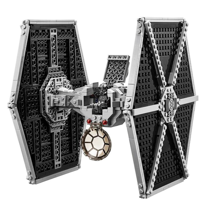 10900 Star Series Wars Imperial TIE Fighter Building Blocks Iconic Attack Craft Compatible With Legoinglys Toys For Children