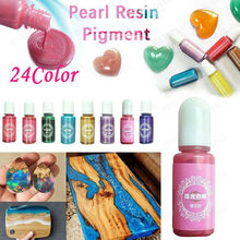 Liquid Pearl Resin Pigment UV Resin Epoxy DIY Making Crafts Jewelry Accessories Colorant For DIY Jewelry Making Crafts Tools(China)
