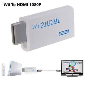 Wii-To-Hdmi-Converter-Adapter Monitor Audio Full-Hd for PC HDTV Display 1080P