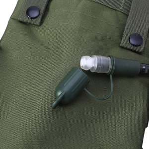 Image 5 - 2.5L Molle צבאי הידרציה תרמיל רכיבה על אופניים טיולי קמפינג רכיבה שקית מים