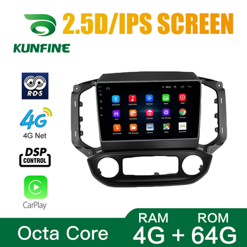 Octa Core Android 10.0 Car DVD GPS Navigation Player Deckless Car Stereo For Chevrolet Blazer Colorado S10 2018 ISUZU D-M Radio image