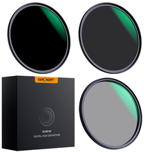 K&F Concept 58/67/77/82mm Lens Filter Neutral Density ND8 ND64 CPL Polarizer Filter for Camera Lens with Multi Layer Nano Coated super thin 49 52 55 58 62 67 72 77mm waterproof circular polarizer cpl camera lens filter for canon for sony camera lens