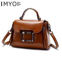 Women's Bag Handbags Designer-Shoulder-Bag Korean-Version Genuine-Leather Fashion Bolsas