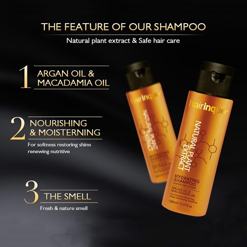 Sulfate-free Shampoo Deeply Cleansing Repair Damage Hydrating Nourishing Moisturizing Smooth Dandruff Hair Care Treatment