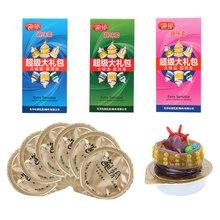 VATINE 6pcs/set Random Color Spike G-Spot Vagina Stimulating Condom Sex Toys For Men Adult Products Condom