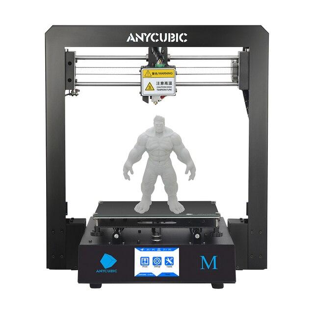 ANYCUBIC 3D מדפסת I3 מגה Impresora 3D ערכת מלא מתכת מסגרת גדול הדפסה בתוספת גודל מגע מסך 3D דרוקר מדפסות
