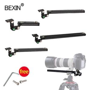 Image 1 - Long RRS ARCA SWISS camera tripod Quick Release Plate telephoto Lens Bracket support holder for Long Nodal Slide Rail Adapter