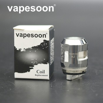 TFV8 Baby V2 A1 0.17ohm A2 0.2ohm Single Replacement Coil Head Cores for V8 Baby V2 Tank Atomizer