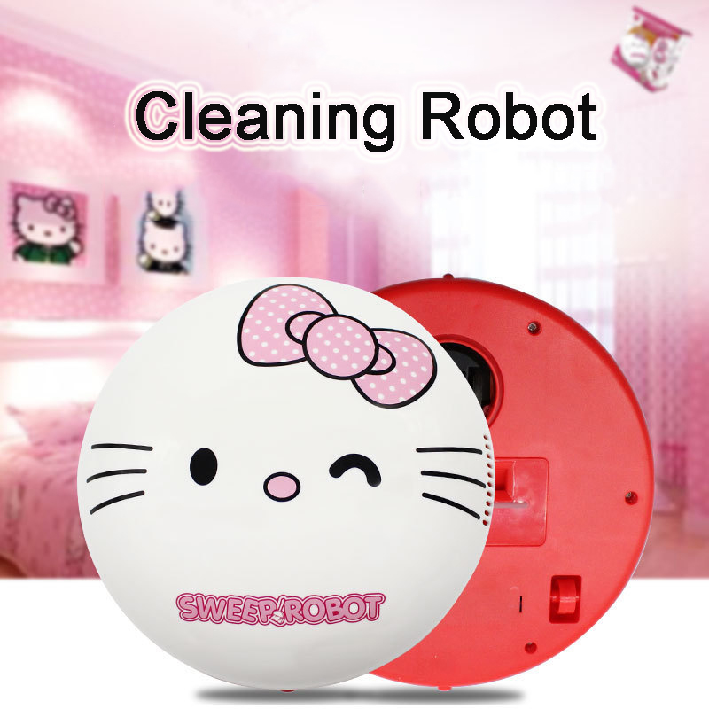 Electric Mini Vacuum Cleaner Helloo Kitty Robotic Vacuum Cleaners for Home Dust Cleaner Cartoon Doraemon Portable Vacuum Cleaner
