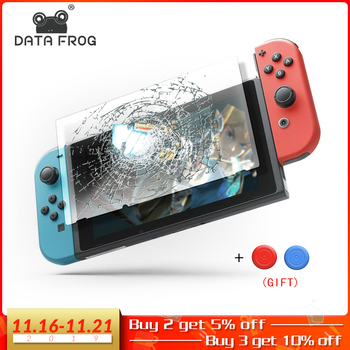 Data Frog Premium Tempered Glass Screen Protector For Nintendo Switch NS Screen Protector For Nintend Switch Lite Accessories