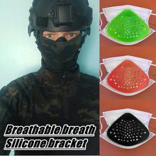 In Stock Adult Unisex Mask Face Mask Scarf Mascarilla Disposable With Built-in Silicone Breathing Stent Personal Health Care(China)