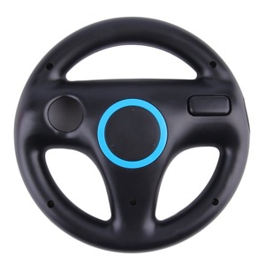 Game Racing Steering Wheel for Nintendo Wii Kart Remote Controller