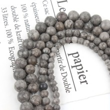 Фото - Gray Maifan Jaspers Stone Beads Round Loose Spacer Bead For Jewelry Making Natural Stone Diy Accessories 4 6 8 10 12 mm 15 gray stone