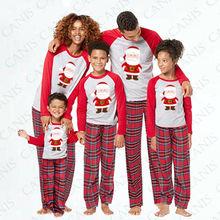 Одинаковые рождественские пижамы для всей семьи; комплекты пижам; детская Рождественская одежда для сна для взрослых; одежда для сна; семейный повседневный комплект одежды с Санта-Клаусом